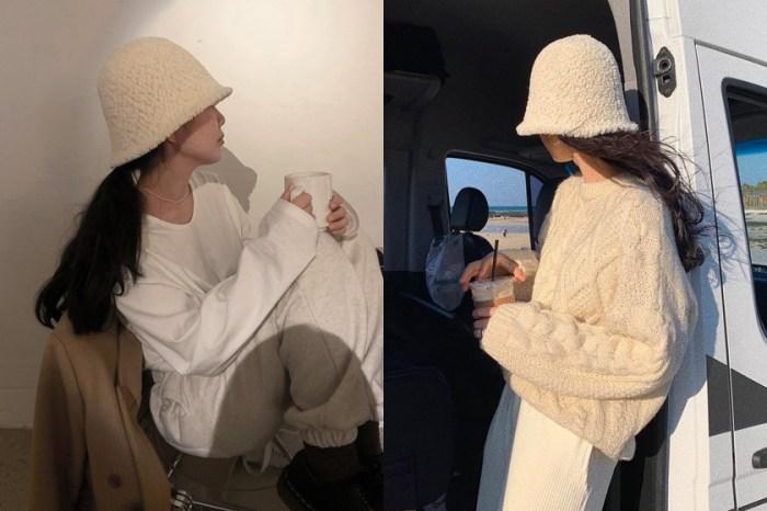 下一個仙氣帽款:超 Q 泰迪熊水桶帽,韓國女生 IG 都在戴它!