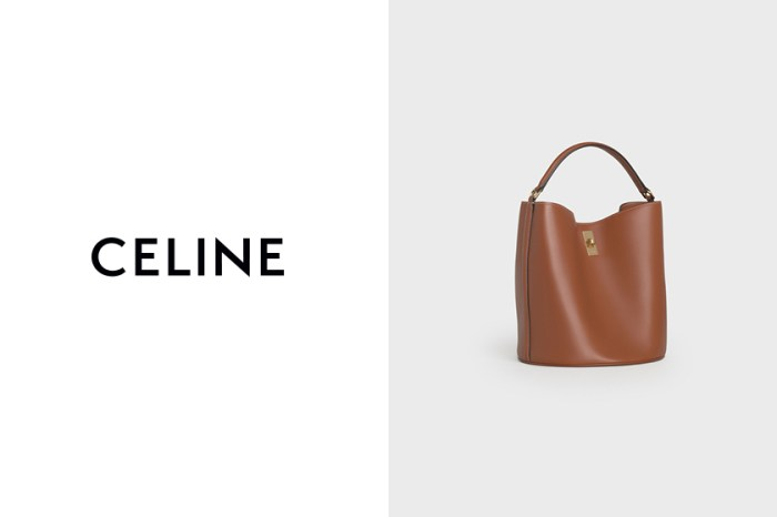 延續 16 Bag 經典:Celine 新上架水桶包,優雅之餘更多了隨性美!