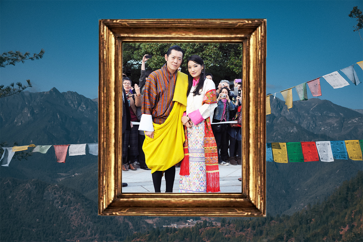 Bhutan Royal Family Jigme Khesar Namgyel Wangchuck Jetsun Pema Wangchuck Royal Couples  Jigme Namgyel Wangchuck Gyalsey Ugyen Wangchuck Love story Marriage