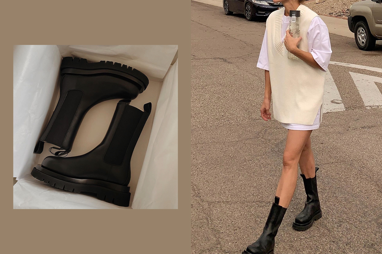 Fashion People Can't Stop Wearing Flat Chunky Boots