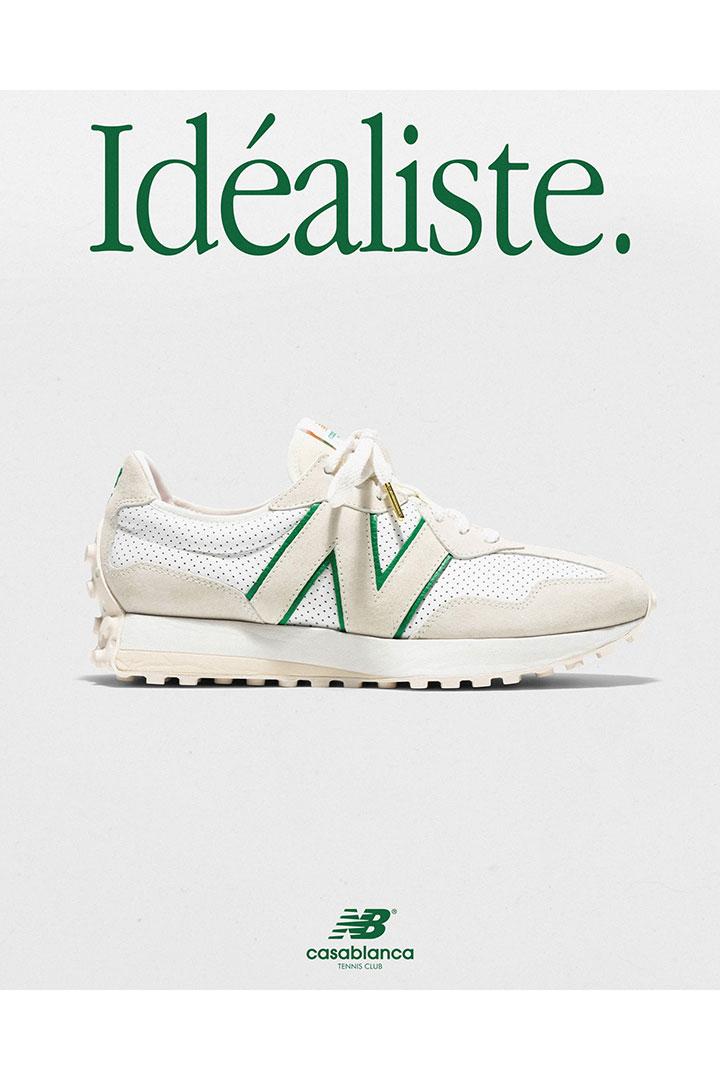 Casablanca x New Balance 327 Sneakers