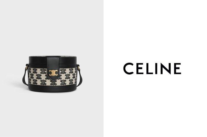 永恆優雅色調:Celine 人氣 Triomphe 復古刺繡手袋,換上黑色新裝!