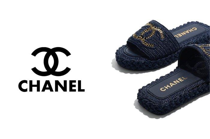 最法式優雅的平底拖鞋?大概就是說 Chanel 這一款!
