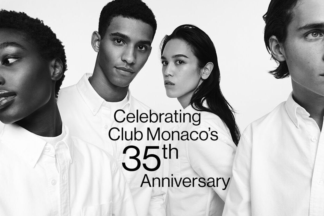 Club Monaco celebrates 35th Anniversary