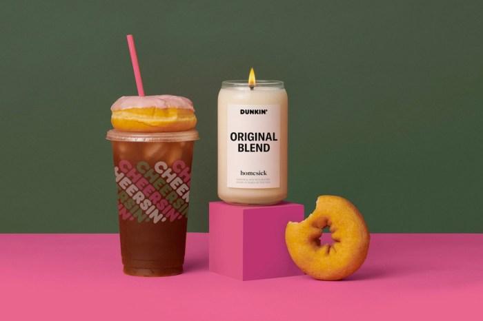 隨時能聞到剛出爐的甜甜圈,Dunkin' Donuts 的香氛蠟燭一年後好評回歸!