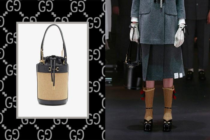 Gucci 最受歡迎 1955 Horsebit 系列,再推這一款隱藏水桶包!