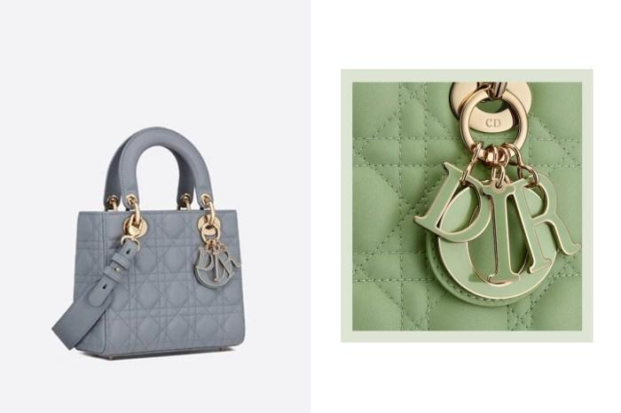 Dior 的經典 It Bag 新添 3 款早春新色,薄荷綠、雲藍美得令人抉擇不了!