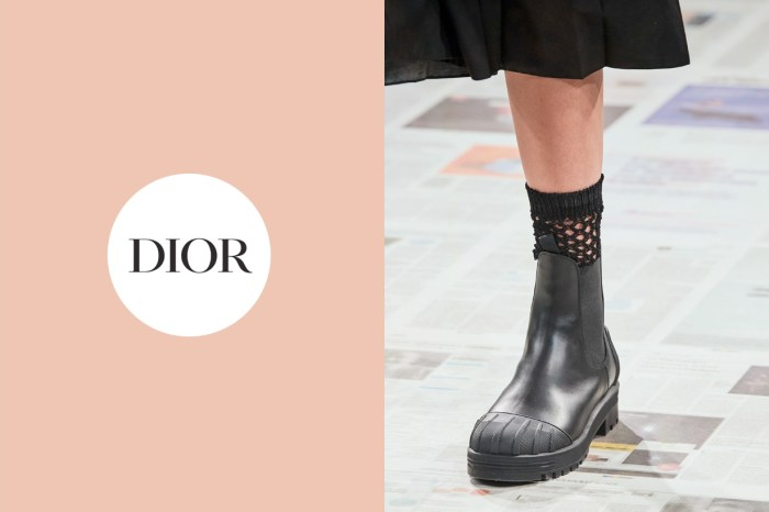 Dior 一雙百搭波鞋、靴子、高跟鞋的網襪,是今年秋冬該寫下的穿搭重點!