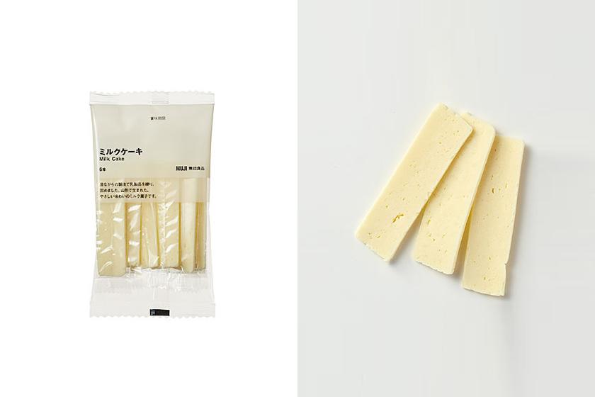 Muji Milk cake taiwan Japan food lifestyle