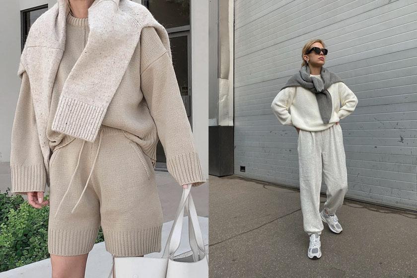 best sweatsuit sets crewneck sweater hoodie sweatpants 2020fw