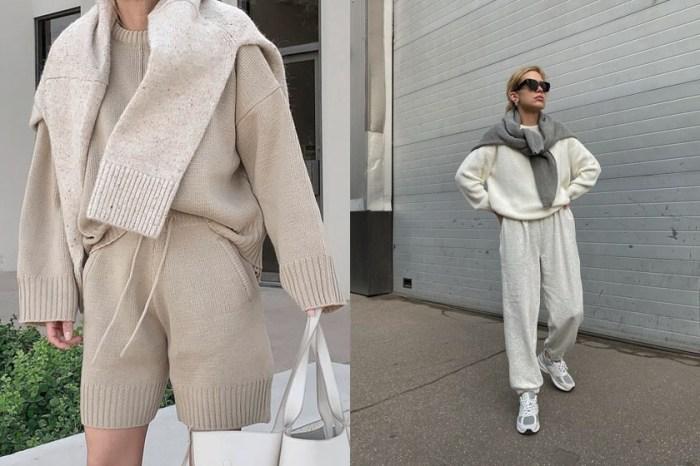 冬天就是要一件衛衣,5+ 時髦女生也在穿的運動服!