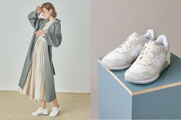 襯出優雅質感:默默低調的 ASICS,極簡灰白波鞋成本季焦點!
