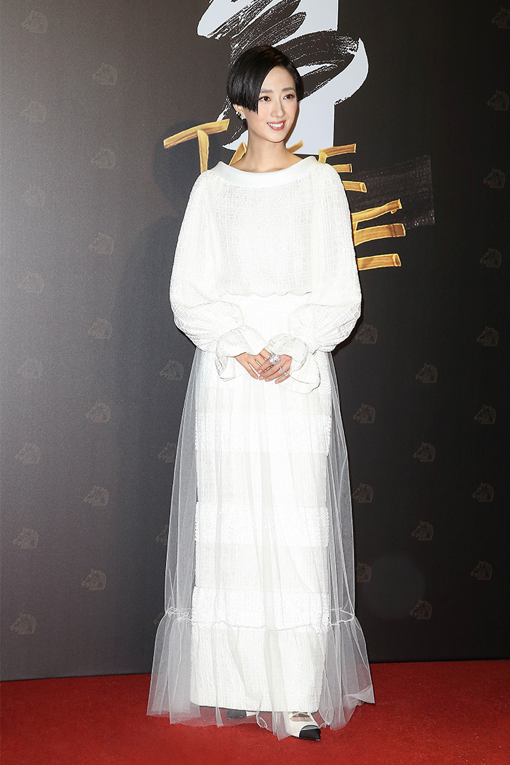 Gwei Lun MEI wore CHANEL at the 57th Golden Horse Awards