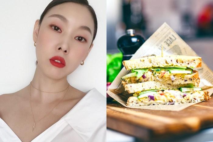 好身材是要經營的!「韓國第一名模」韓惠珍吃三文治的方法,在網絡掀起熱話!