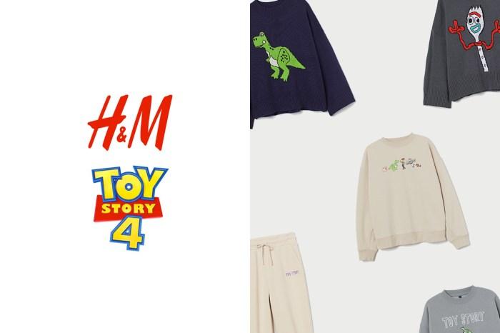 H&M x《玩具總動員 4》聯名已開賣,一次備齊全部女裝單品!