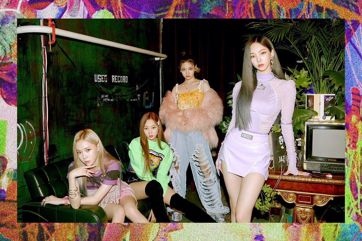 aespa Karina Giselle Ningning Winter Black Mamba SM Entertainment Red Velvet Girls Generation Netizens Comments Korean idols celebrities singers girl bands