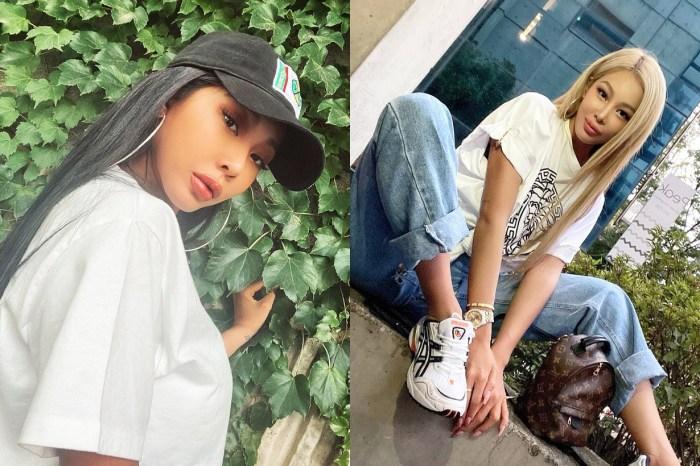 Jessi 卸下濃妝豔抹為韓國護膚品牌拍攝硬照,清純得差點認不出來!