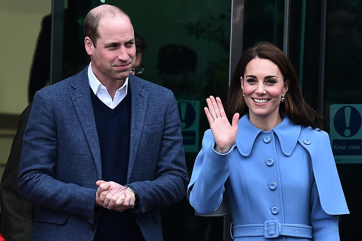 Kate Middleton  Duchess of Cambridge Prince William Duke of Cambridge British Royal Family Future Queen to be Covid-19 Coronavirus Test Positive