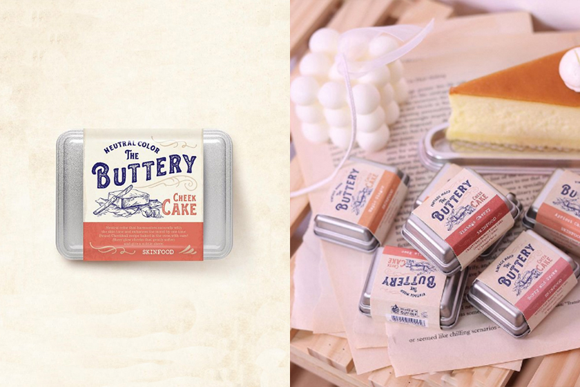 korean makeup brand skinfood the buttery cheek cake blush