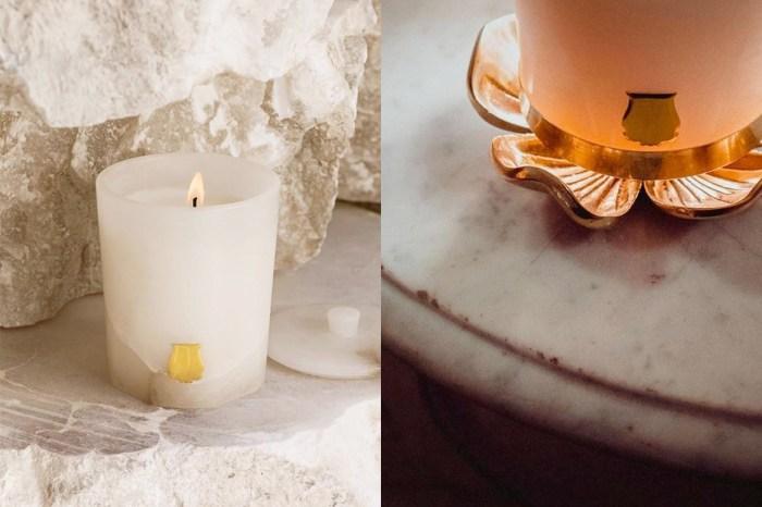 整塊雪花石打磨而成,巴黎老牌 Trudon 的蠟燭令人美到捨不得用!