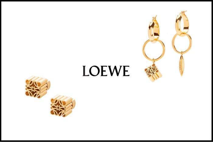 Loewe 推出經典 Logo 飾品:不怕退流行的款式,每一副都擁有也不過份!
