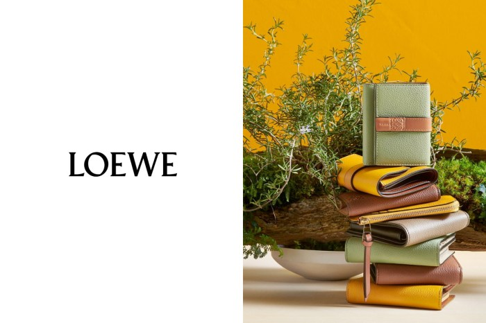 Loewe 人氣銀包換上新外衣,向日葵、迷迭香是秋冬最不無聊的配色!