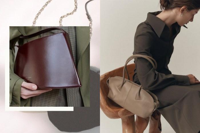 Jil Sander、Lemaire 代替品:這個韓國品牌的手袋,散發 100% 低調極簡質感!