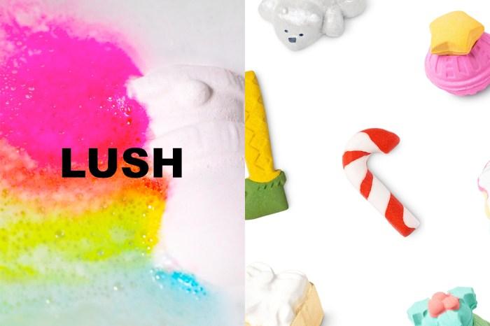 Lush 迷一年就等這波限定,快來物色聖誕限定 Bath Bomb!