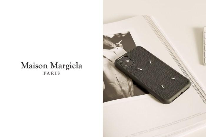 待補貨:Maison Margiela 推出經典手機殼,完美細節不怕近賞!