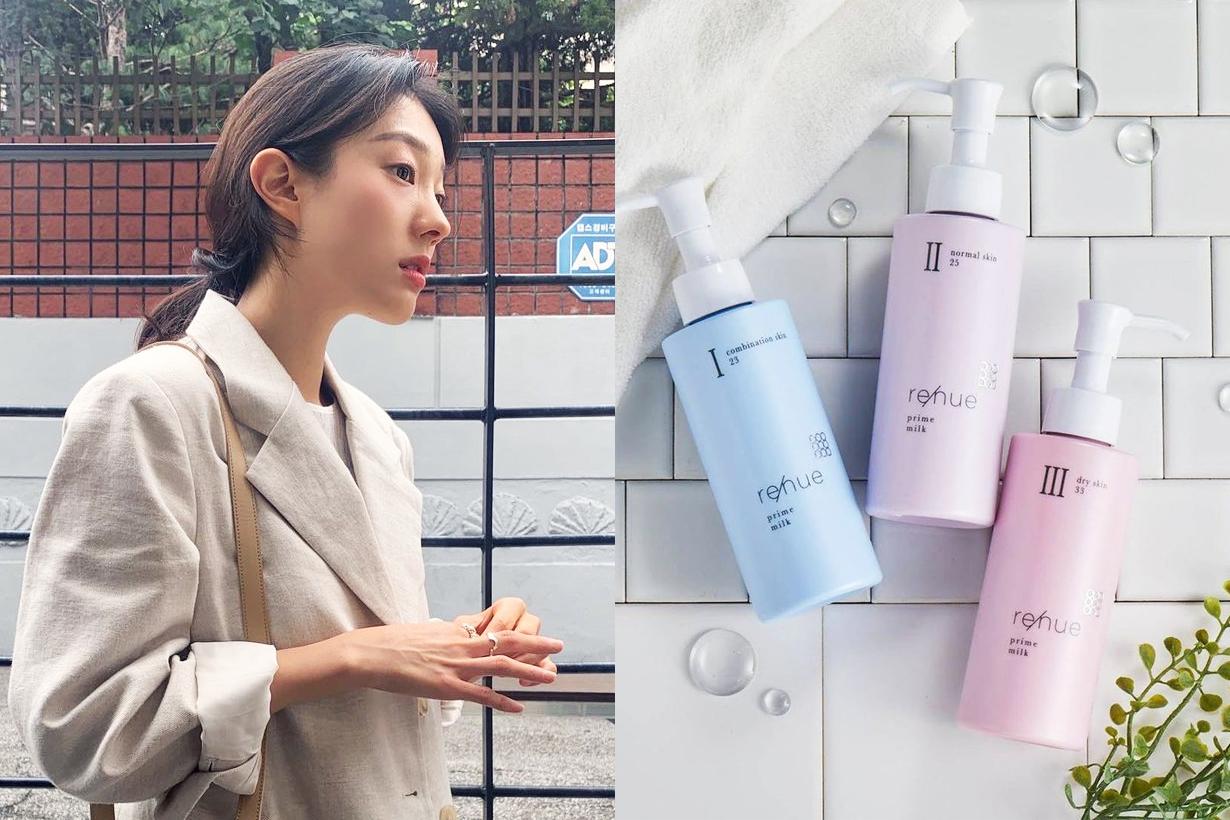 Naris Up Renue Prime Milk Moisturizing emulsion Japanese Skincare Toner Lotion normal skin dry skin oily skin