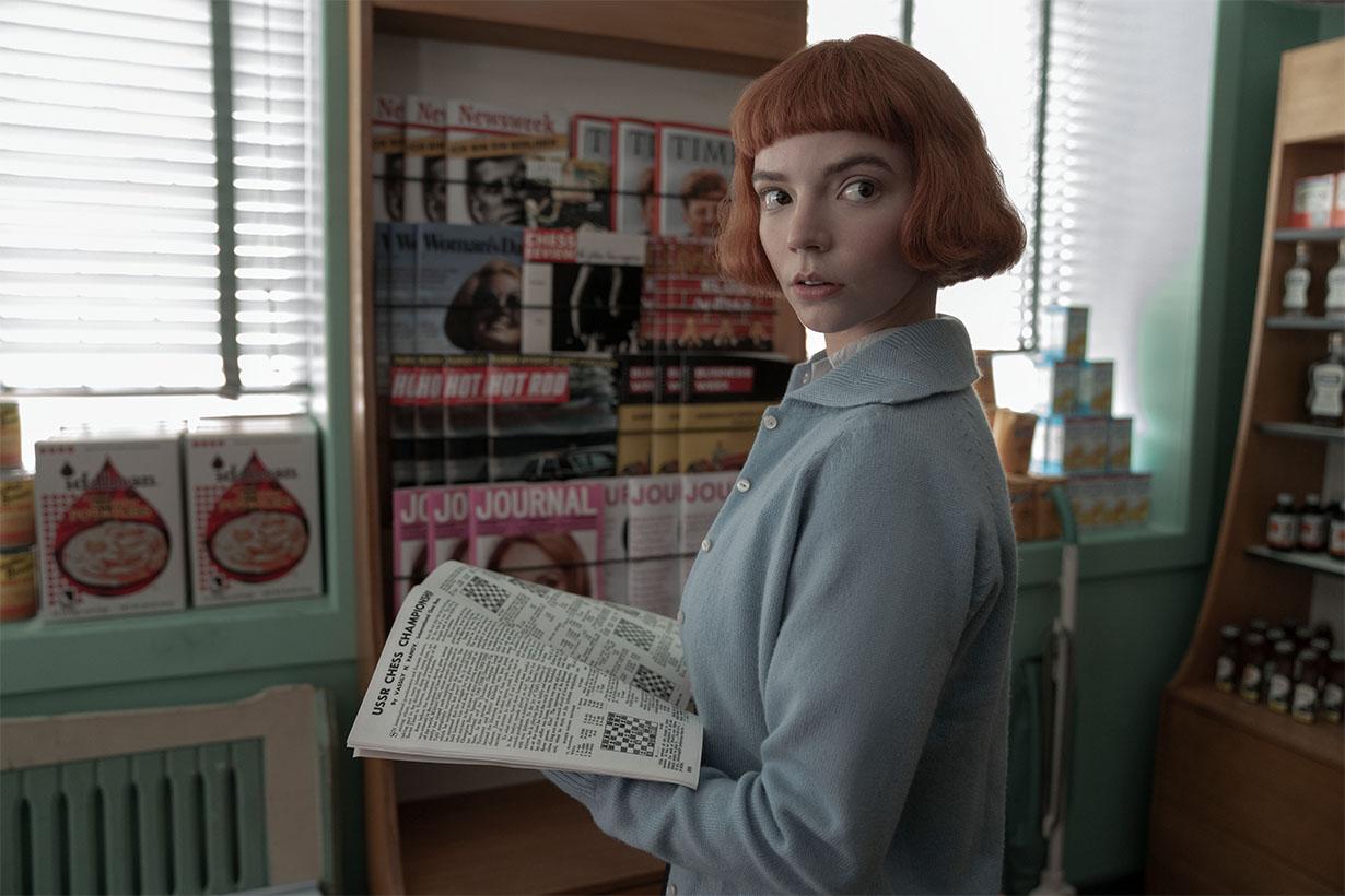 Netflix The Queen's Gambit Visual effects VFX Anya Taylor-Joy