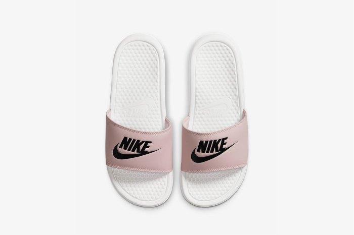 潮人必備:Nike 人氣 Benassi JDI 拖鞋粉紅版本登場,穿一整天也舒適時尚!