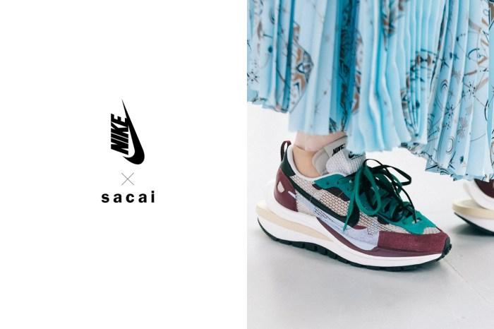 遲到的配色,Sacai x Nike Vaporwaffle 紫綠將在 12 月中開始投籤?