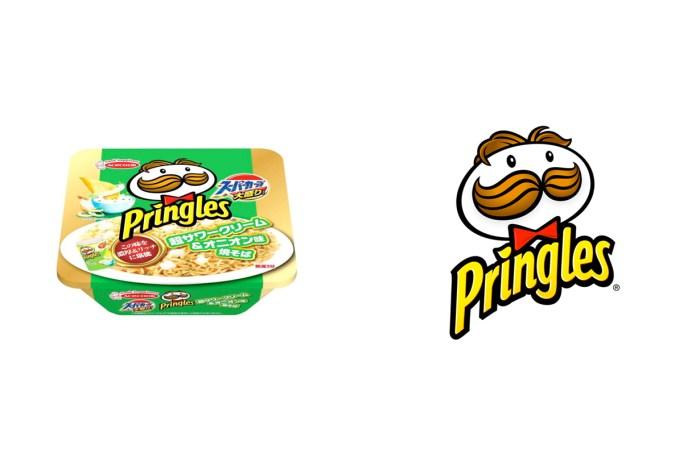 Pringles 洋芋片跨界,經典的 Sour Cream&Onion 變成酸奶炒泡麵!