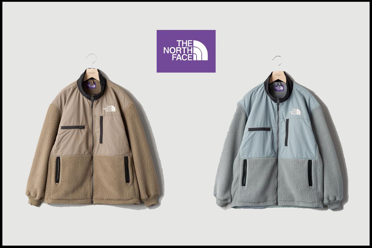 the north face purple label united arrows denali new