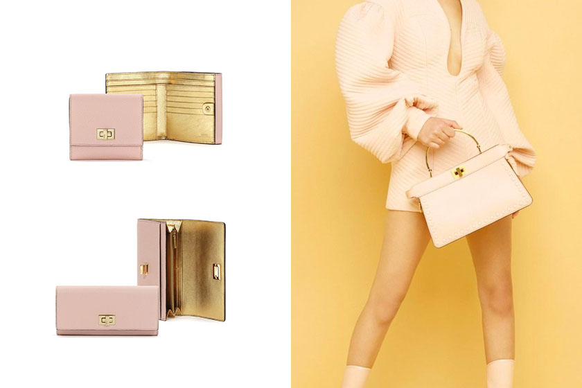 Fendi PEEKABOO wallets Japan limited collection