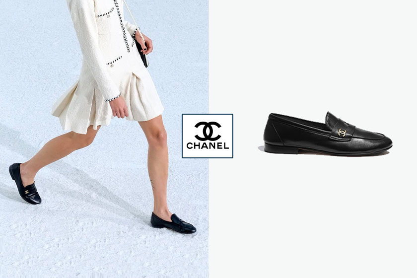 chanel penny loafer spring summer 2021 collection shoes release