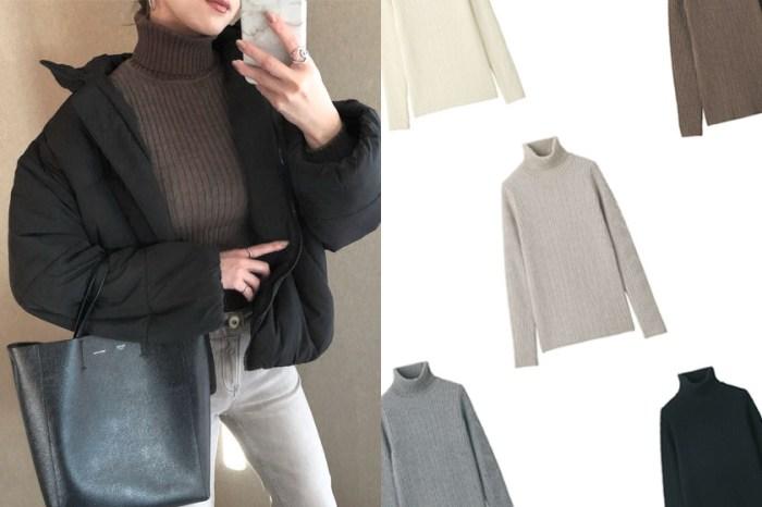 日本 MUJI 大缺貨:穿上不扎脖子的高領毛衣,一上架就被包色!