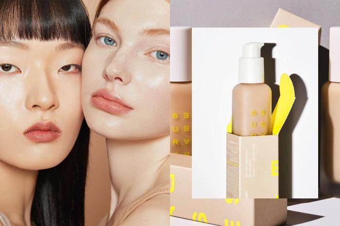 這個全新韓國美妝品牌,光用 2 款粉底液就能引起熱話!