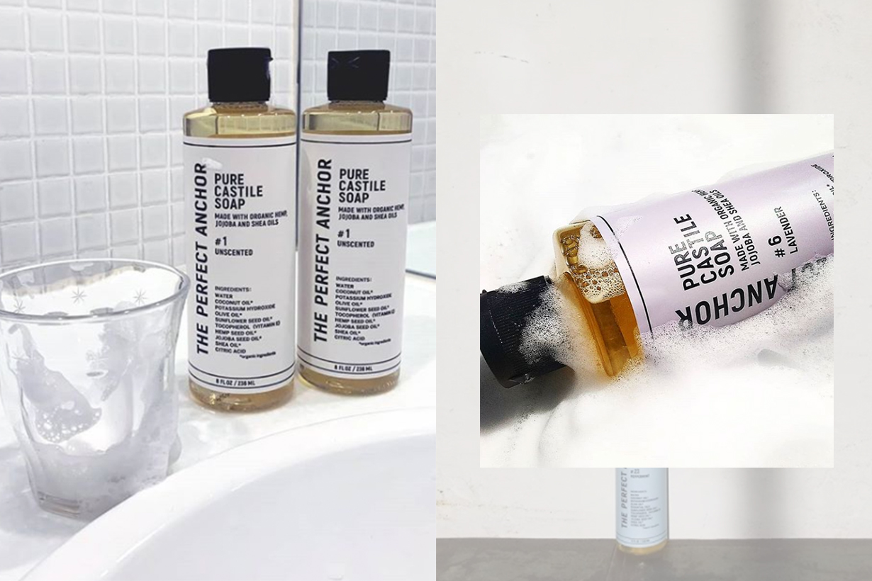 The Perfect Anchor Soap for Washing Mask