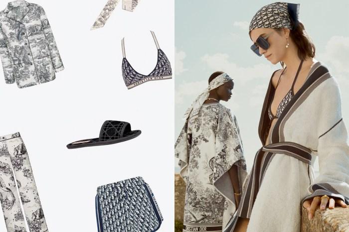 Dior 第一次推出居家服系列:拖鞋、睡衣… 還有 3 款 Book Tote 新花色!