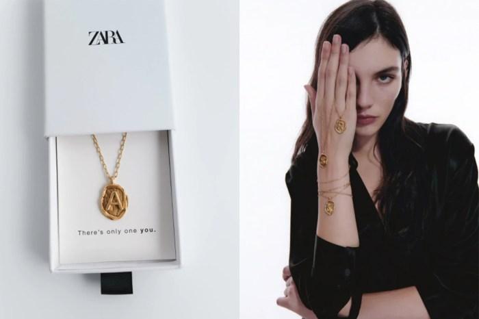 新上架已快斷貨?Zara 金色字母項鏈,復古高貴質感媲美名牌!
