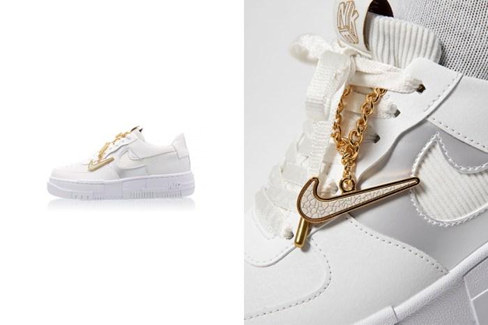 引來熱議:滿滿質感細節的 Nike Air Force 1,秋冬就在等這雙白色波鞋!