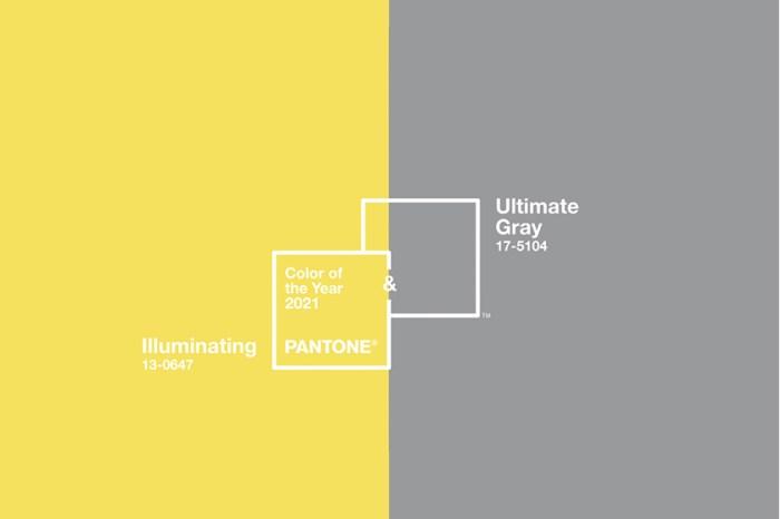Pantone 公布 2021 代表色:結合「Ultimate Gray」與「Illuminating」為新的一年帶來希望!