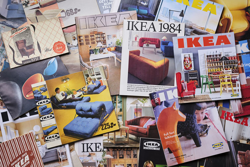 IKEA stop issuing paper catalog