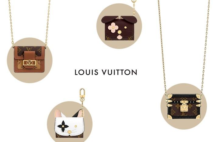 迷你經典小包+療癒貓咪造型!Louis Vuitton 剛剛推出的 AirPods Case 迅速引起注目!