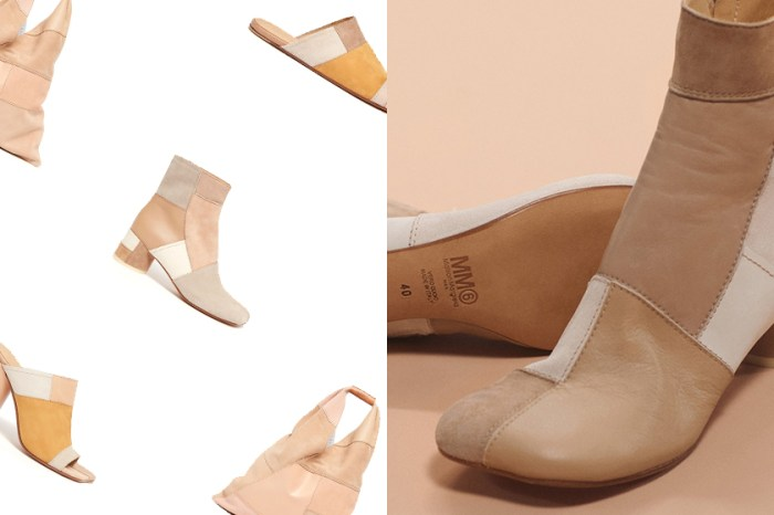 賦予經典 Ankle Boots 質感拼接:MM6 Maison Margiela 限定系列還有這幾樣迷人配件!