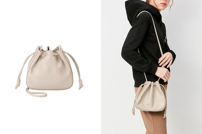 GU new Drawstring Bag Japanese Girl