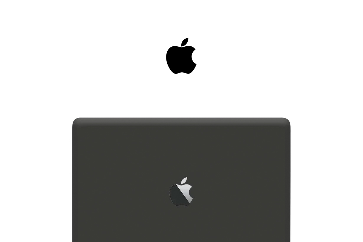 apple matte black macbook iphone ipad watch