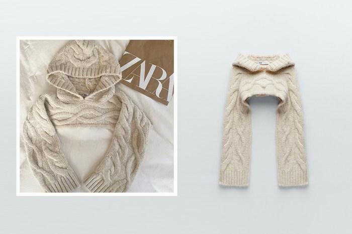 新品區最搶手是它:Zara 這件袖套連帽衫,日本女生直接包色!